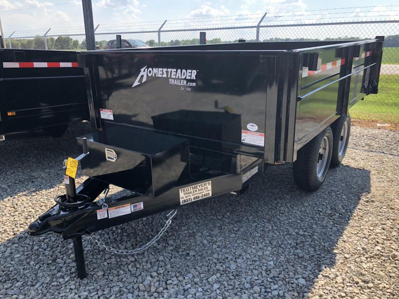Homesteader Trailers - 6x10 Dump Trailer