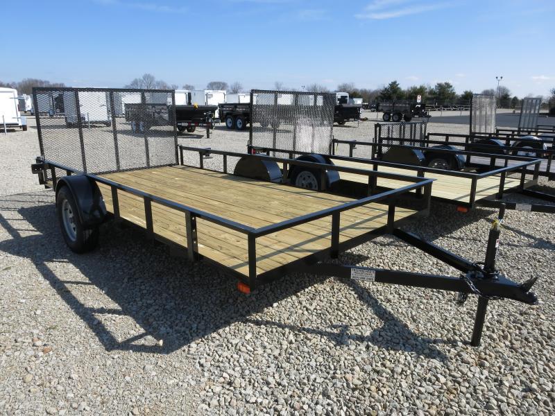 American Manufacturing 7x14 Utility Trailer w/ gate