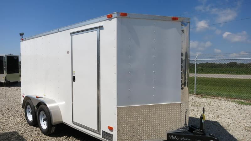 Freedom Trailers 7x14 Enclosed Trailer w/ double doors