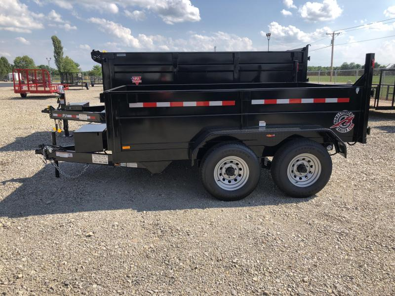Homesteader Trailers - 7x10 Dump Trailer