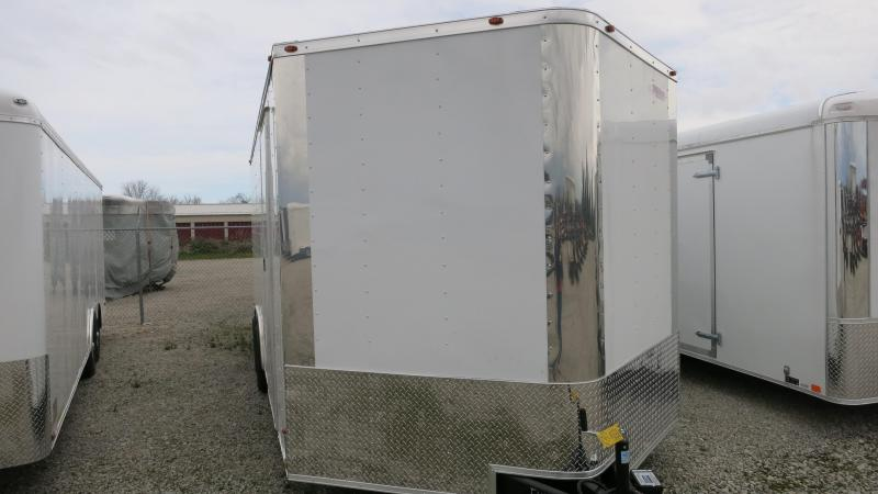 Freedom Trailers 8.5x20 Enclosed Trailer w/ Ramp Door