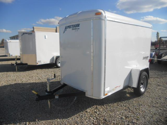 Homesteader 5x8 Single Axle Enclosed with Single Rear Door