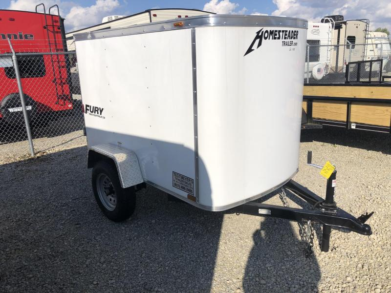 Used 4x6 Enclosed Trailer
