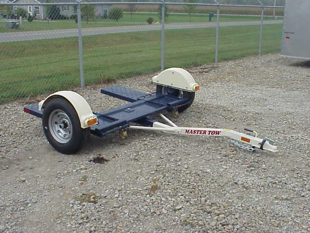 Master Tow - 80THD Heavy Duty Tow Dolly - Radial Tires - Car Hauler - Tie Down Straps