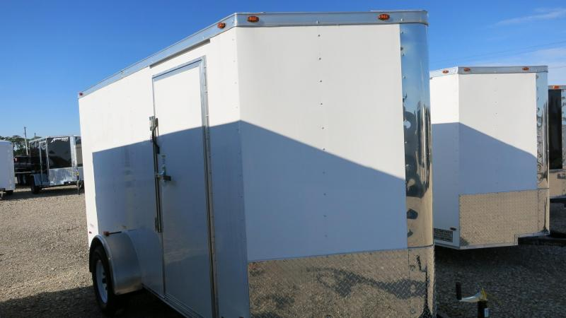 Freedom Trailers 6x12 Enclosed Trailer w/ Ramp Door