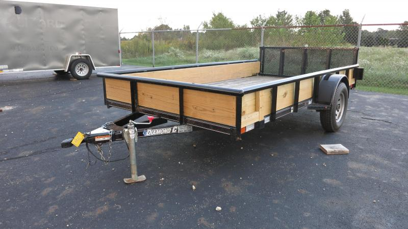 Used Diamond C 6.5x12 Utilty trailer