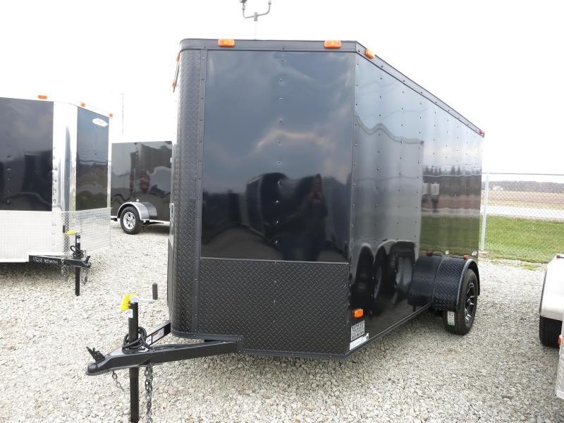 Freedom Trailers 6x12 Enclosed Trailer Black Out