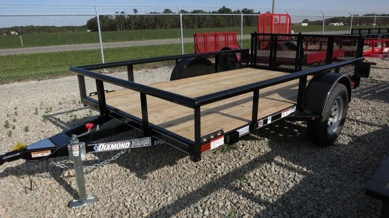 Diamond C Trailers 6x10 Utility Trailer w/ Gate