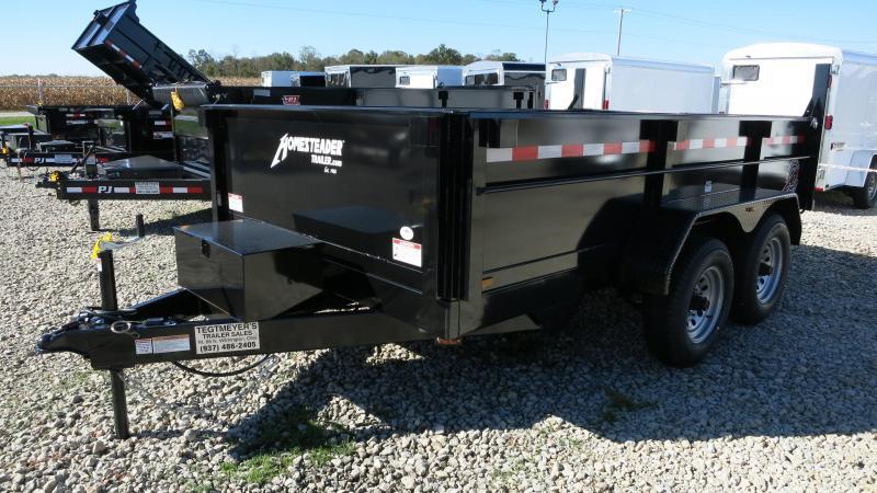 Homesteader Trailers - 7x12 Dump Trailer