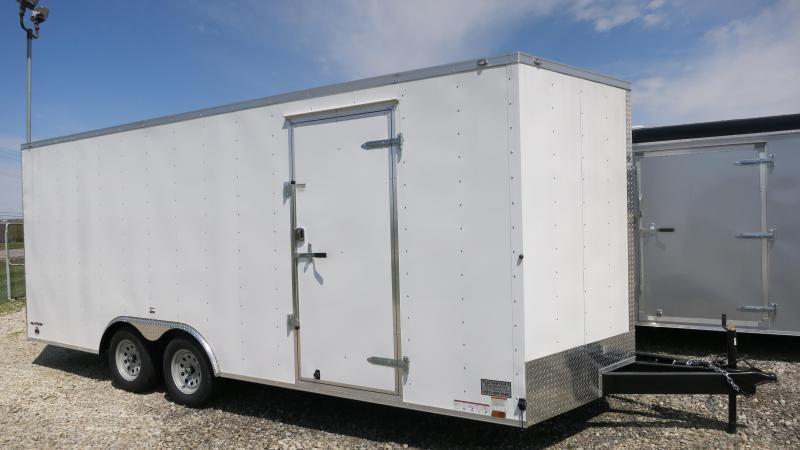 Used Continental Cargo Trailers 8.5x20 Enclosed Trailers