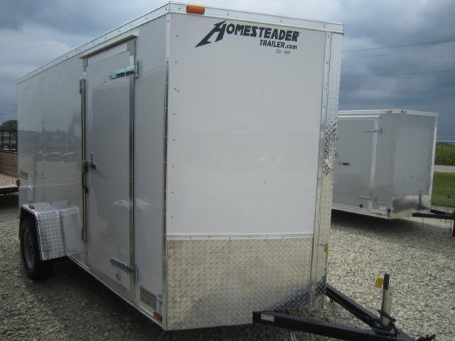 Homesteader Trailers 6x12 Enclosed Trailers w/ Ramp Door - D Ring - Vents