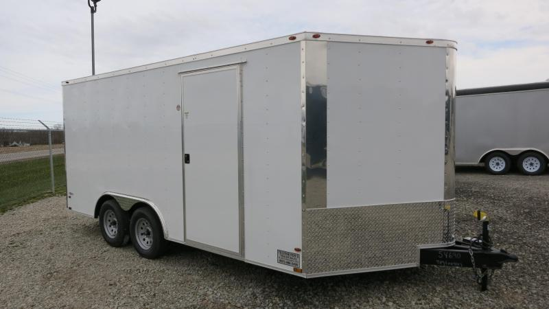 Freedom Trailers 8.5x16 Enclosed Trailer w/ Ramp Door