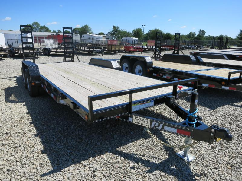 PJ Trailers 20' Flatbed