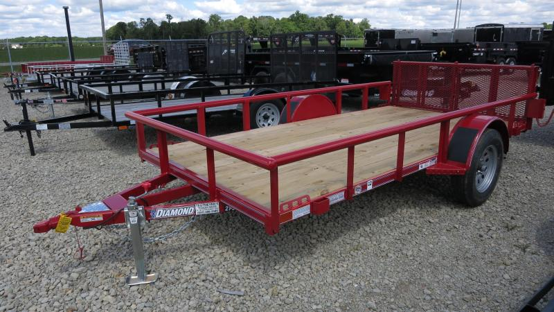 Diamond C Trailers 6x12 Utility Trailer w/ Gate
