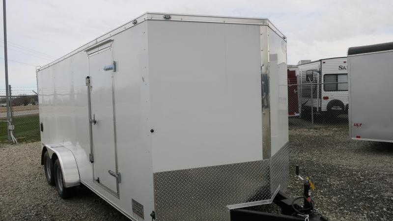 Continental Cargo 7X18 Enclosed Trailer W/ Ramp Door