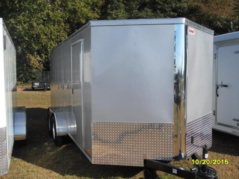 2015 Victory Trailers Bullet 7' X 16' VT716TA Cargo / Enclosed Trailer