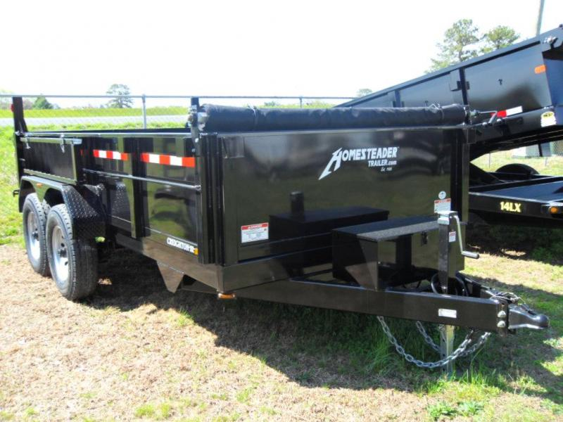 2018 Homesteader 714JX Dump Trailer