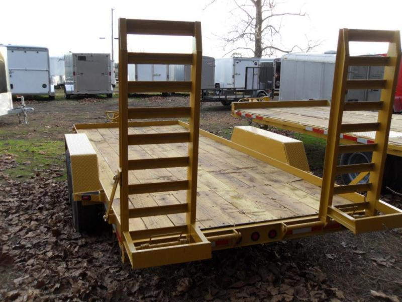 2020 Winston BP20720ES Equipment Trailer