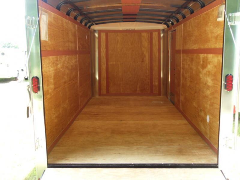 2020 Homesteader 716CT Enclosed Cargo Trailer