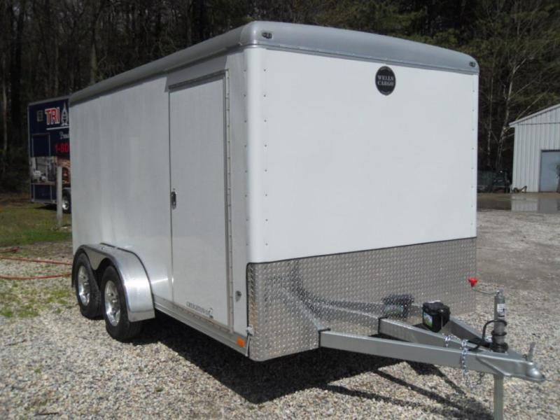 2016 Wells Cargo 7' X 14' CW1422-102 Enclosed Cargo Trailer