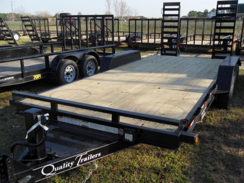 2020 Quality Trailers DH-7K-18P Equipment Trailer
