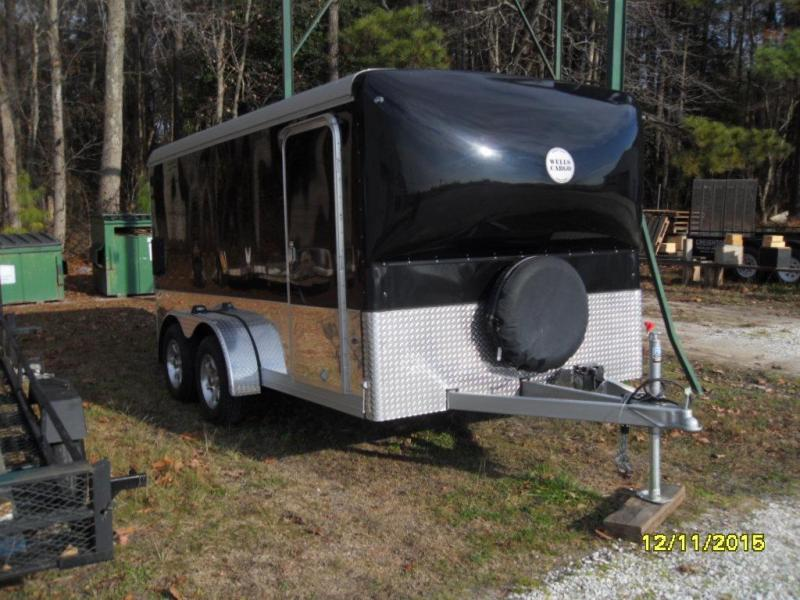 2016 Wells Cargo 7' X 14' MC7142-TE Enclosed Cargo Trailer