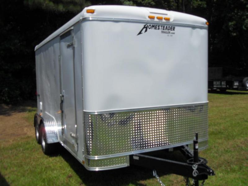 2020 Homesteader 714CT Enclosed Cargo Trailer