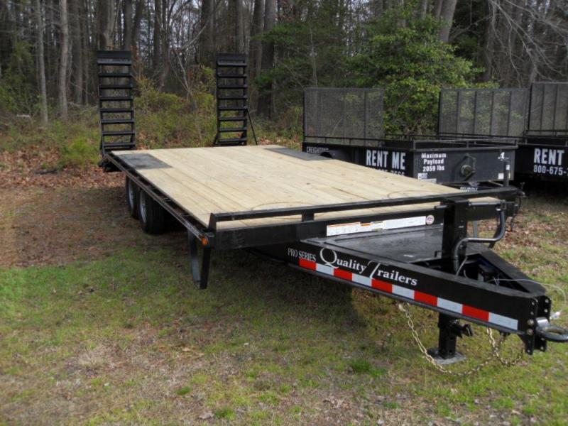 2020 Quality Trailers P20-PRO-DECKOVER Equipment Trailer
