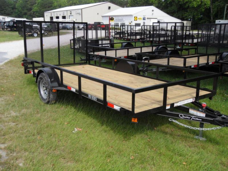 2019 Quality Trailers 6X14 Pro Series Utility Trailer