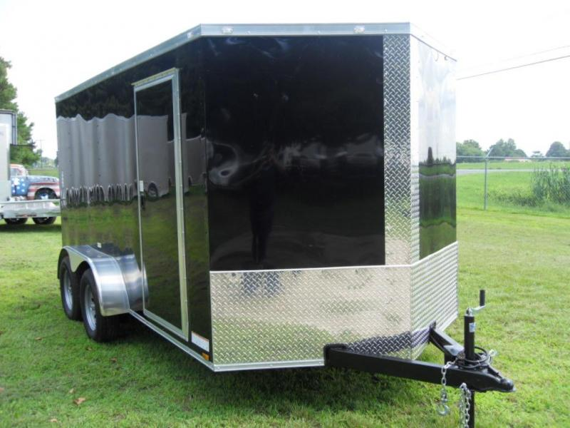 2018 Precision Cargo 7X14TA Enclosed Cargo Trailer