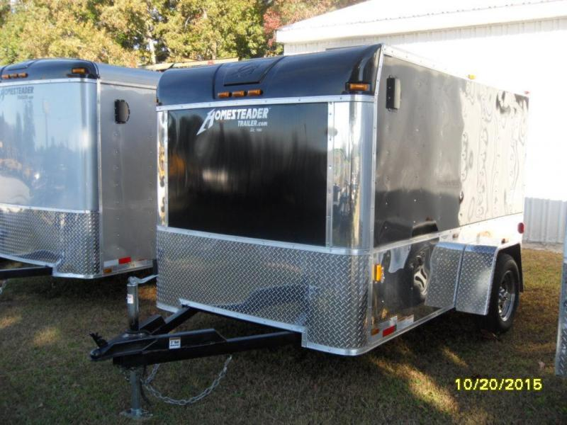 2015 Homesteader 6' X 10' EZRIDER MODEL 610ES Cargo / Enclosed Trailer