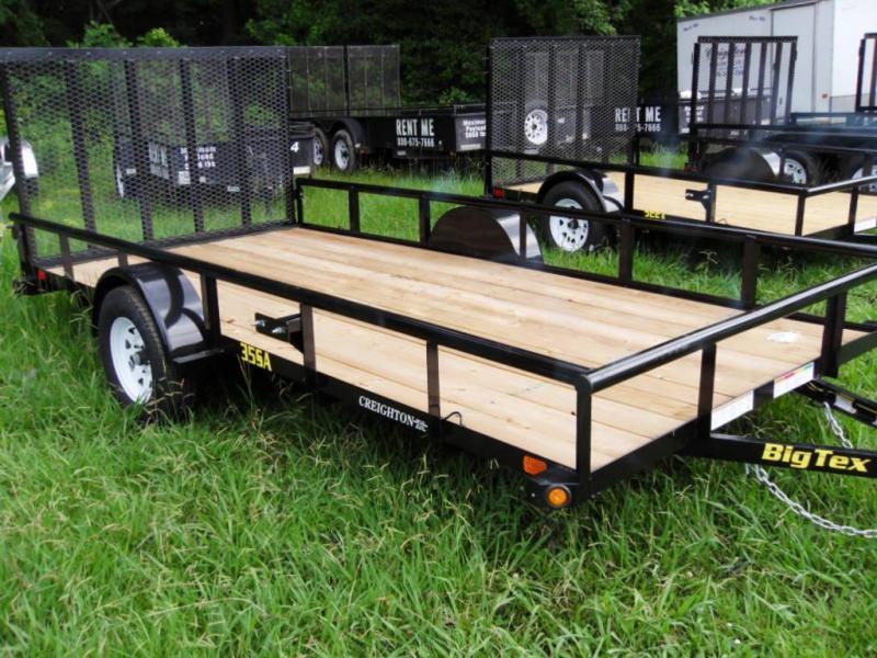 2020 Big Tex Trailers 6-4 X 14 35SA-14 Utility Trailer