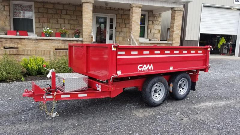 Cam Superline 6X10 10K 3 Way Deckover Dump Dump Trailer