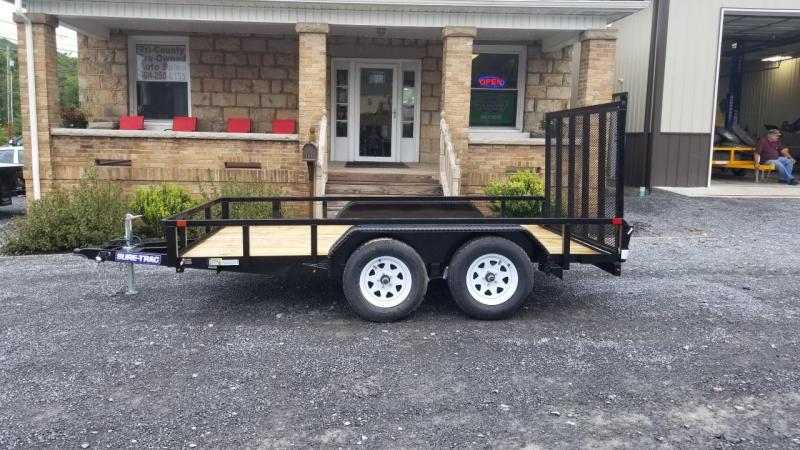 Sure-Trac 7X12 7K Tube Top Landscape Utility Trailer
