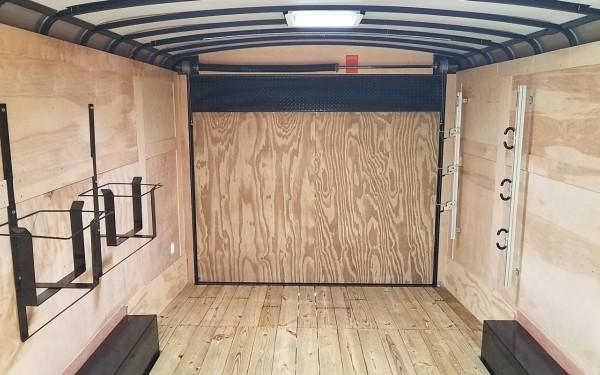 2018 Sure Trac 8.5X20 10K Cargo W/ Landscape Pro Package White