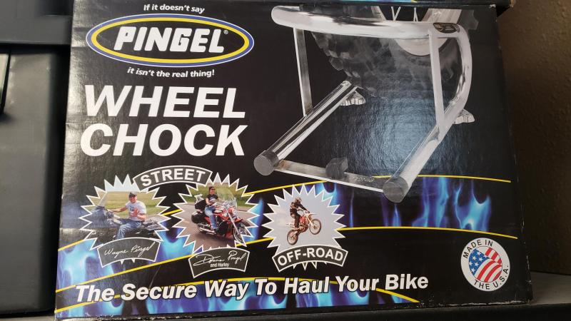 PINGEL WHEEL CHOCK