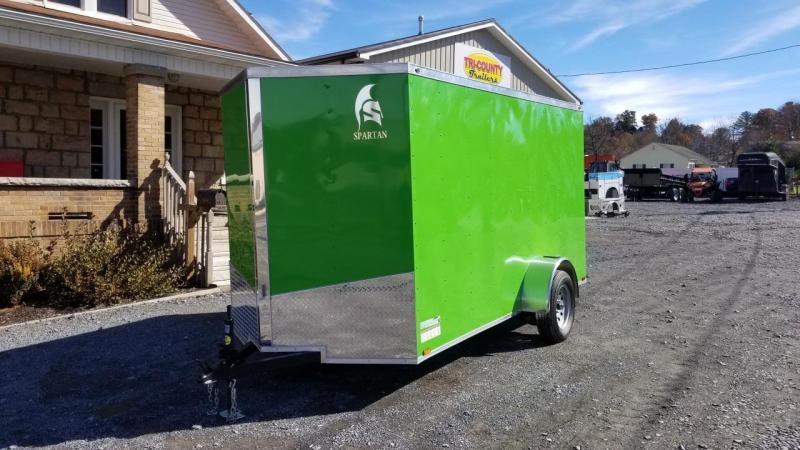 Spartan 6X12 3K Cargo Electric Green