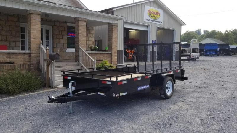 Sure-Trac 7X12 3K Steel High Side Utility Trailer