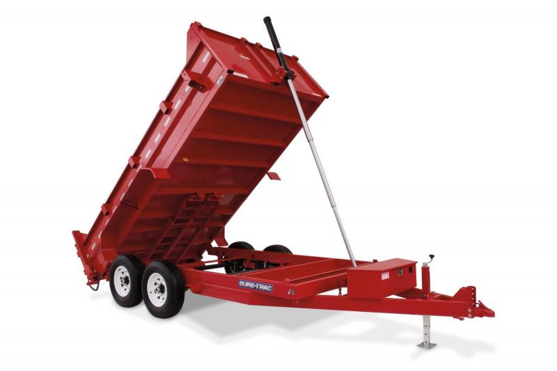 Sure Trac 82X14 14K Telescopic Dump