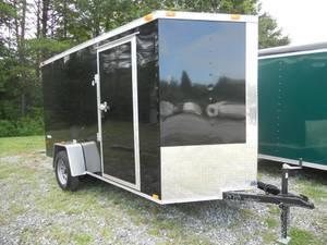 2016 Freedom 6' x 12' Enclosed Cargo Trailer
