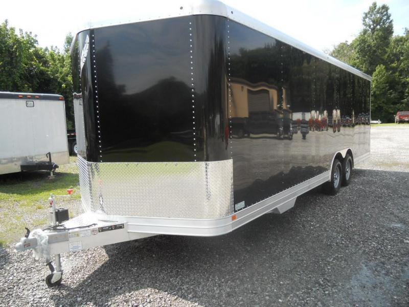 2016 Featherlite 24' 4926 Car Hauler / Racing Trailer with Spare