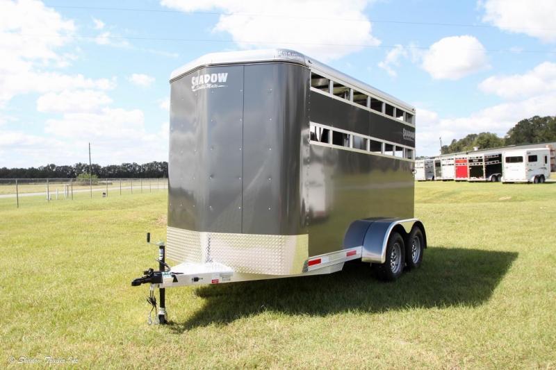 2017 Shadow 2-Horse Bumper Pull Trailer