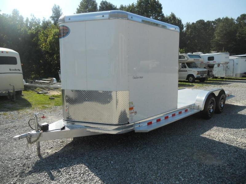 2016 Sundowner Outdoorsman 22' Hybrid Enclosed Cargo Trailer