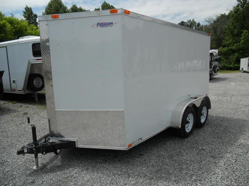 2016 Freedom Trailers 7' x 12' Enclosed