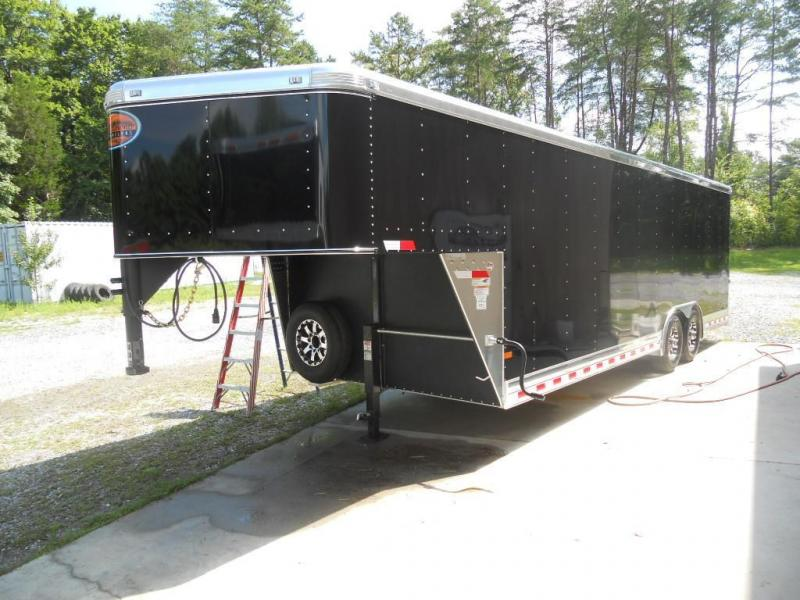 2015 Sundowner Trailers Sunlite 24 Gooseneck Car Hauler Car / Racing Trailer