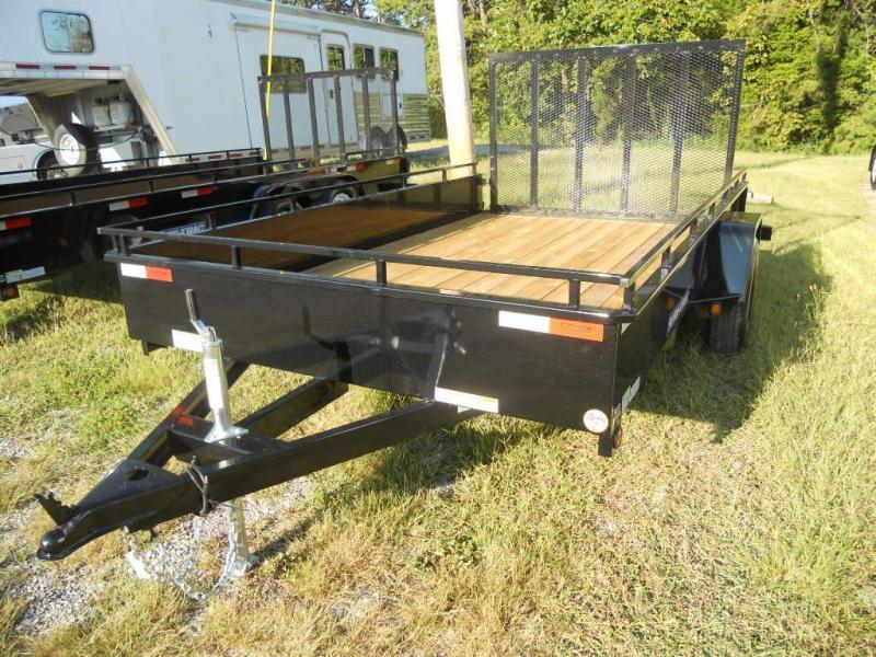2016 Sure-Trac 6' x 10' High Side Utility Trailer