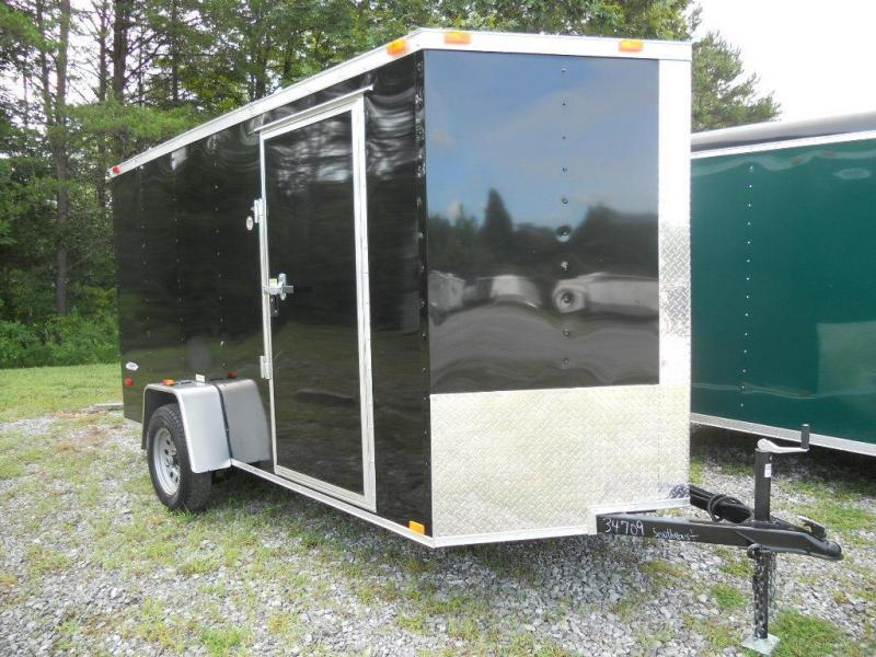 2016 Freedom Trailers 6' x 12' Enclosed Cargo Trailer