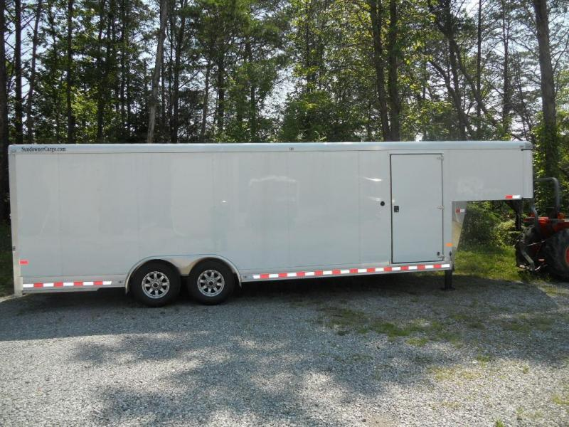 2015 Sundowner Trailers 24' Gooseneck Car Trailer Car / Racing Trailer