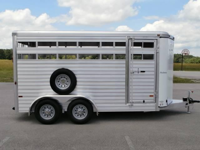 2014 Sundowner 16FT Stockman Rear Slider Horse Trailer