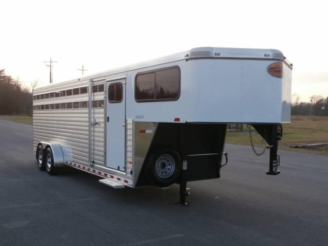 2014 Sundowner 24FT Stock/Combo Horse Trailer